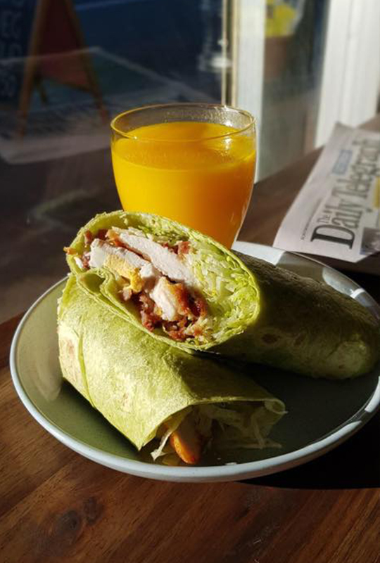 Juice and Wrap